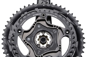 SRAM Red 22 Quarq power meter from the back