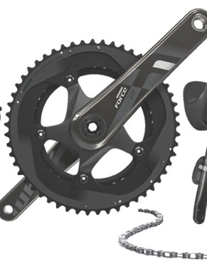SRAM Force 22 is 11-speed as a mechanical-only group