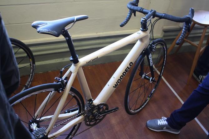 61712d919c9 Bespoked Bristol 2013 – Woodelo wooden bike wins Best New Builder ...