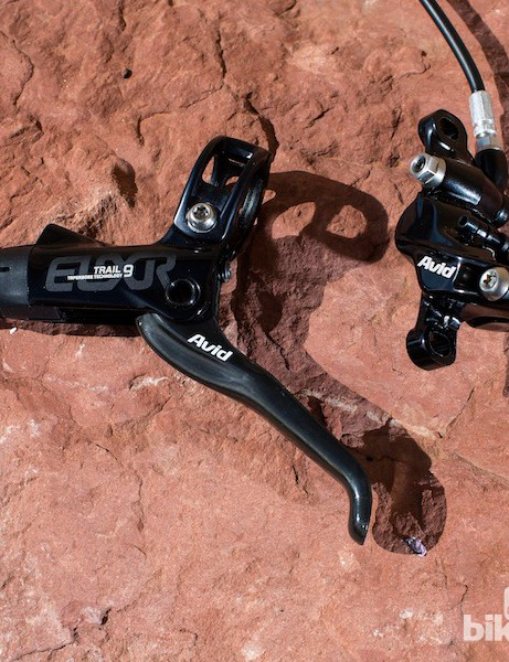 The Avid Elixir 9 Trail weighs 350g and retails for $169/140£/€151