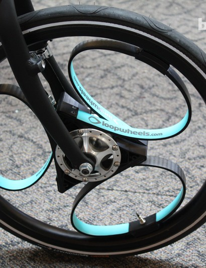 We had a quick spin on a set of Loopwheels and were impressed by the effectiveness of their shock absorption