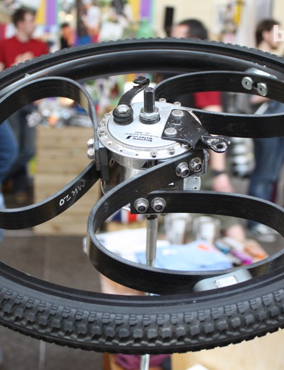 Prototype 5 - The Loopwheel starts to mature as a design