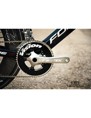 Slide forward on the saddle and you might be surprised by what gears the Forme will hold over long stretches