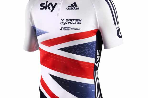 The new British Cycling replica jersey