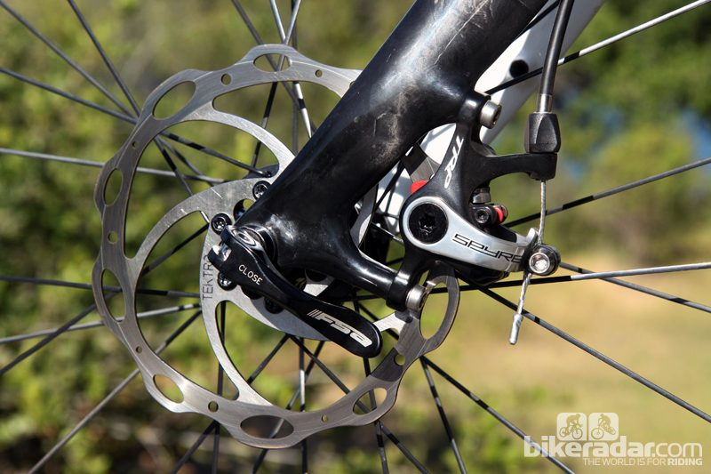 1 set TRP Spyre Road Cyclocross Mechanical Bike Brake Front and Rear