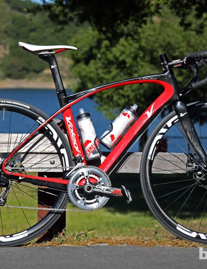 The proliferation of good road disc brakes will likely translate into an increase of 'real world' road bikes, such as this Volagi Liscio