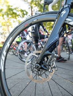 SRAM released details of their disc road brakes earlier this week