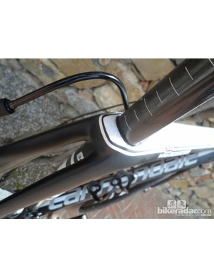 Widely separated seatstays also echo design touches of the SuperSix EVO