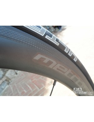 Vision's new all-carbon Metron clincher