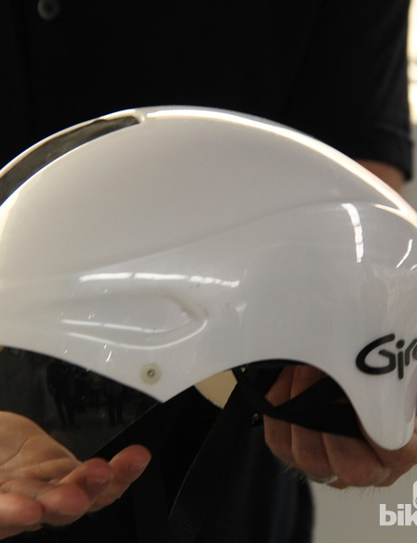 This aero lid was less of helmet and more of a fairing...