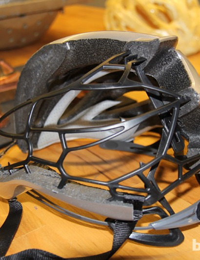 Plastic and composite skeletons allow Giro to produce helmets with large vents