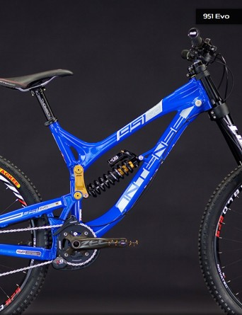Intense Cycles' new 951 EVO DH bike looks low and fast - just the thing for downhill racing