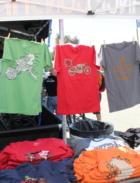 Endurance Conspiracy has a number of stock shirts, and many special-run items, like the current on for FMB handmade tires
