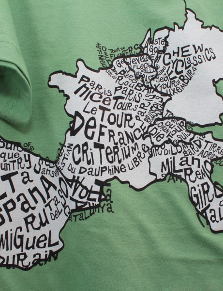 A cyclist's map of Europe