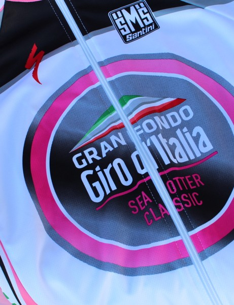 The Sea Otter Classic has had a gran fondo in the past. This year, it's the Gran Fondo Giro d'Italia