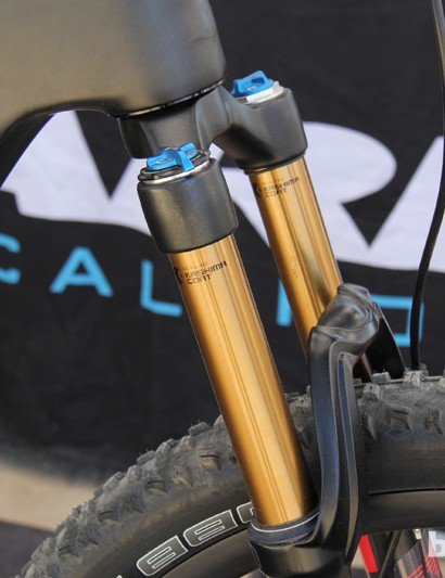 The Mount Vision has a 67.5-degree head tube angle when paired with a 140mm fork