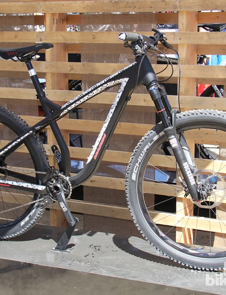 The Rocky Ridge is a new aggressive hardtail with 650B wheels
