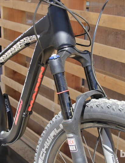 The Rocky Ridge will come equipped with a 130mm suspension fork