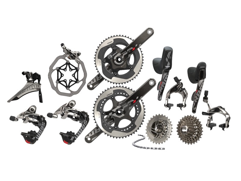 SRAM Red 22 has three brake options: one mechnical plus hydraulic rim and hydraulic disc