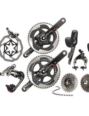 SRAM Red 22 has three brake options: one mechnical plus hydraulic rim and hydraulic disc