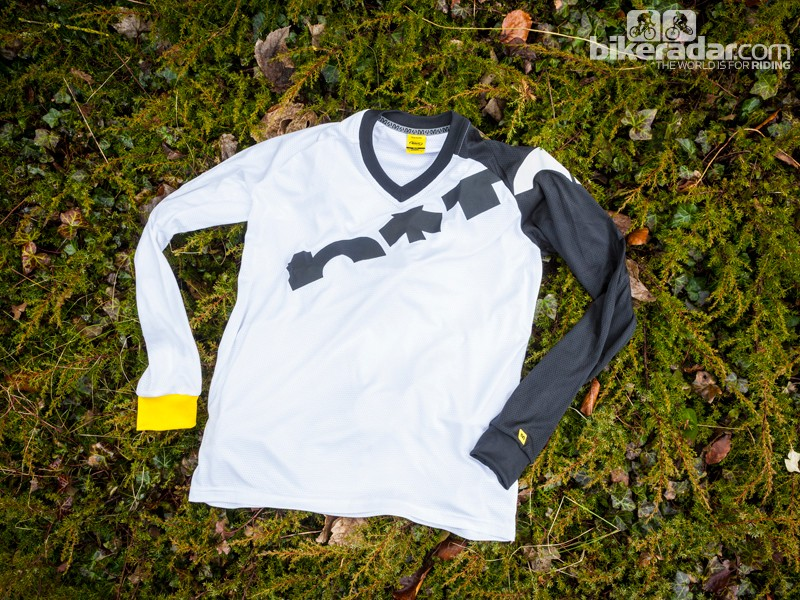 Mavic Notch Graphic long sleeve jersey
