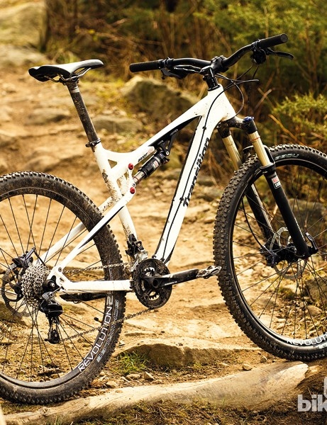 Transition have targeted the 3 at trail riders who want more technical descending abilities