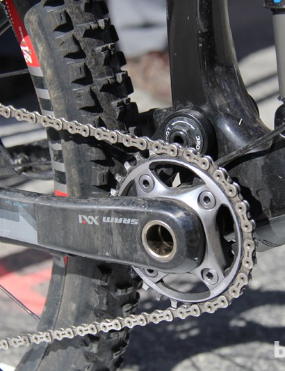 The frame will be offered in a 1x-specific version, lacking a mount for a front derailleur