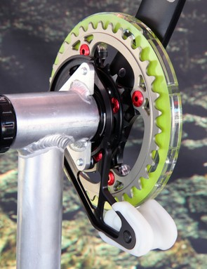 Gamut will offer its Dual S chainguide to work with ISCG05, ISCG03, and threaded bottom bracket shells