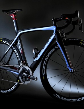 The Scapin Etika RC features glow-in-the-dark paint