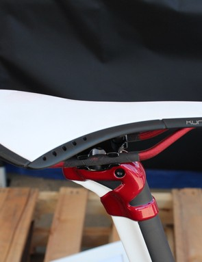 Scapin has its own seatpost