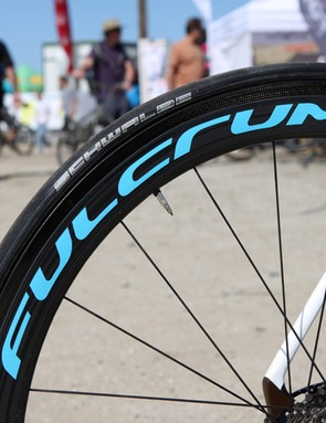 Unusually, Focus includes tubular tires as stock equipment - be sure to glue them on securely
