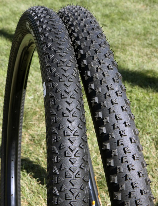 The Race King will be Continental's fastest-rolling 27.5-inch tread while the X-King is more versatile with its more open pattern