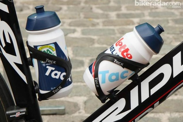 The Tacx Shiva bottle, as used by many in the pro peloton