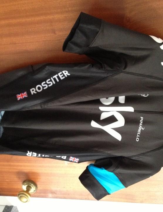 Team Sky customised jersey