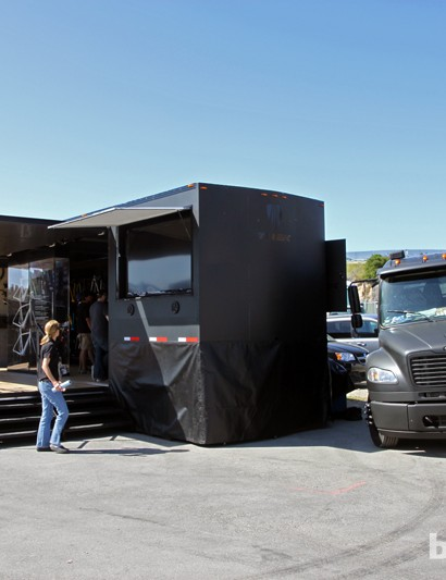 Trek debuted at Sea Otter its massive Project One Mobile Experience rolling showcase, which is set to visit 250 retailers plus a few key events this year