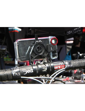 Flip the new Tate Labs iPhone 5 mount to use the video camera
