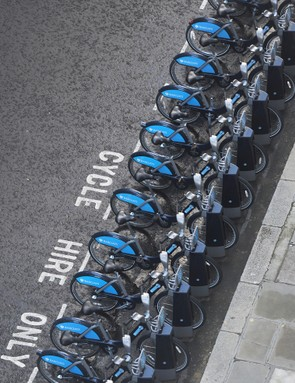 The Barclays Cycle Hire Scheme in London