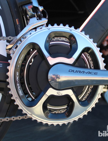 The new Dura-Ace 9070 SRM crankset is $3,145