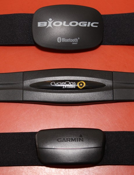 The BioLogic heart rate monitor is a bit taller than most ANT+ models