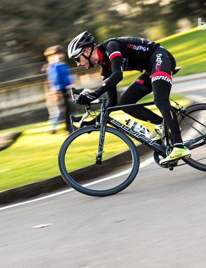 The Swift Carbon Ultravox Team Issue is even more agile than its predecessor, the RS-1
