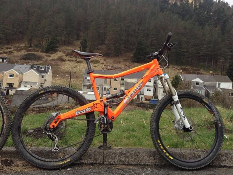Andy Keetch's bike, thought to have been stolen by a criminal gang