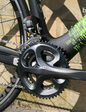 This Xeon CW is equipped with Ultegra Di2