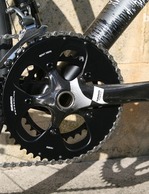 This bike has a SRAM Force groupset, but buyers can specify their own kit