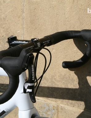 The bar and stem are Ritchey WCS items