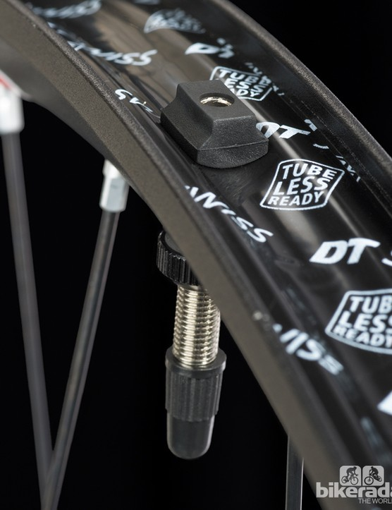 The Spline rims are tubeless ready, but not UST