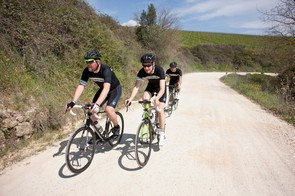 We rode the Synapse Hi-Mod 2 on the Strade Bianche (white gravel roads) of Tuscany