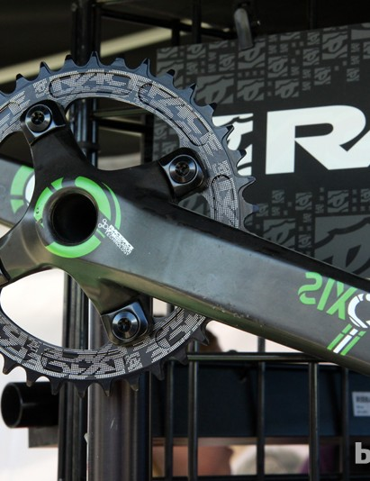 Race Face is so confident in its carbon fiber cranks that they're approved for downhill use