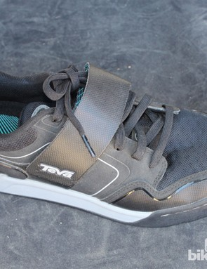 The US$150 Pivot is Teva's first clipless shoe