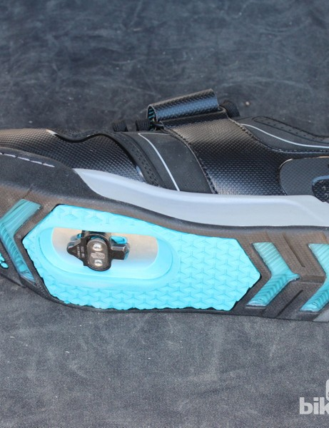 Teva designed the shoe to look like a casual shoe, but function like an all-mountain piece