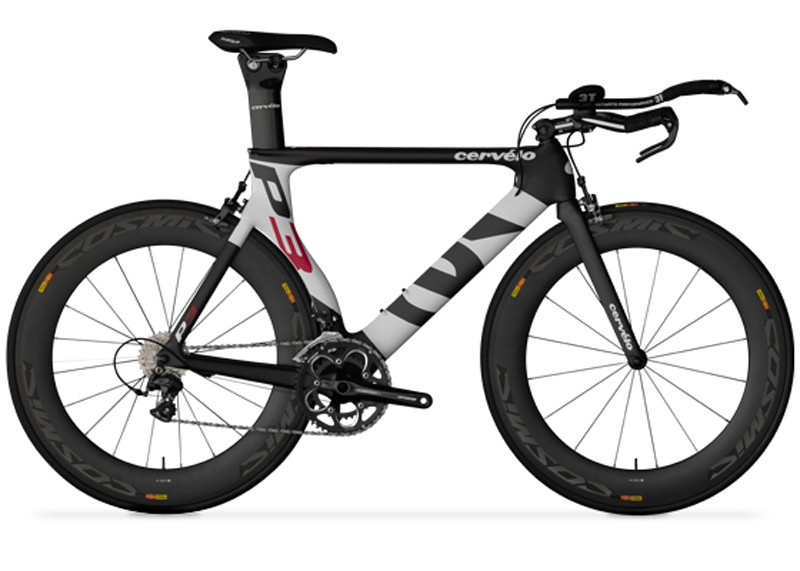 The 2013 Cervélo P3 with Shimano Ultegra is affected by the 3T Aura Pro recall